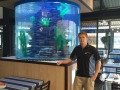 Acrylic fresh water aquarium - custom fish tanks